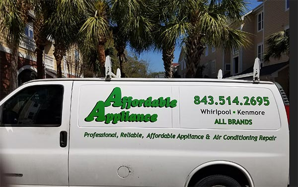Affordable Appliance Truck